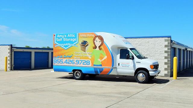 Amys Attic Van