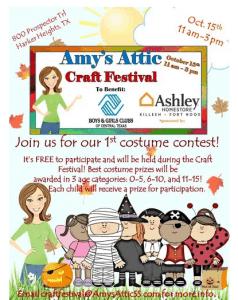 Amy's Attic Craft Festival