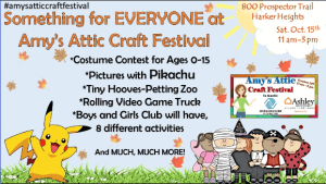 Amy's Attic Craft Festival for Boys & Girls Clubs