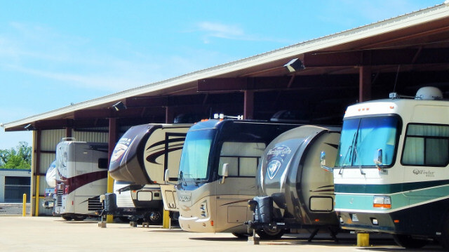 RV Storage in Texas