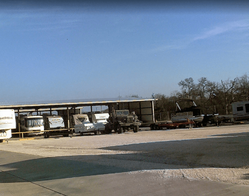 boat storage lot