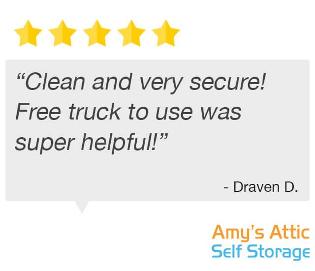 Free Truck Super Helpful Testimonial