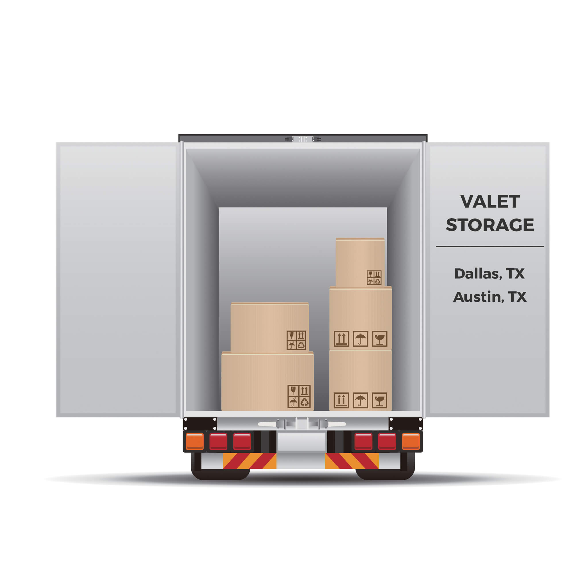 Valet Storage in Austin and Dallas Texas
